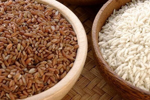 Evaluation of brown rice compared to white rice